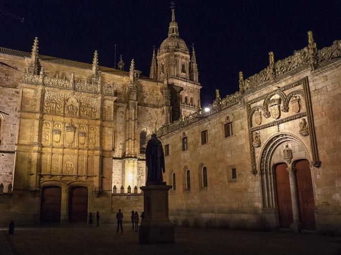 One of Salamanca's scenic chapels   © Turol Jones/Flickr