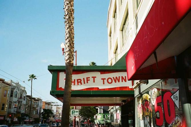 Thrift Town | © Ivane Lund Soyombo