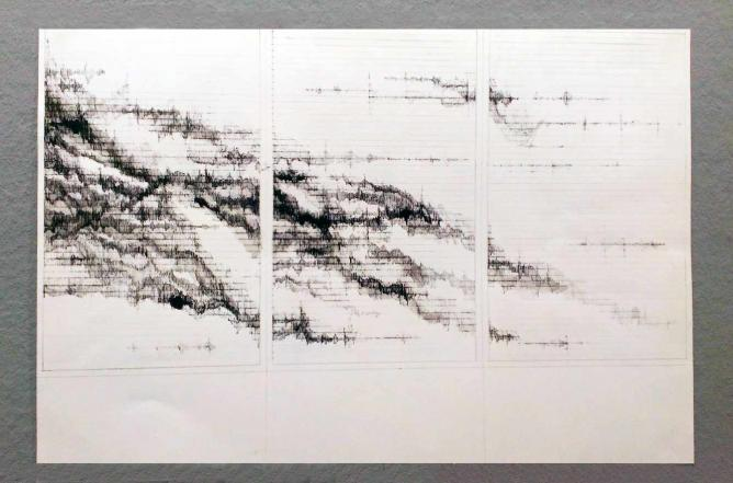 Scribbly Lines or Mountain Landscape?