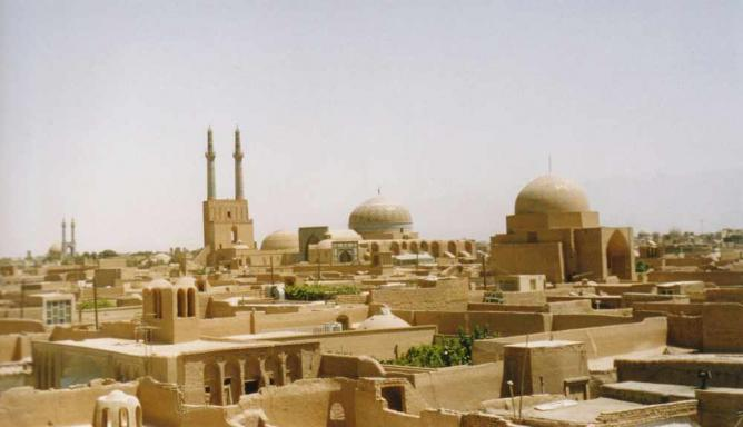 Yazd Old Town | ©Vanalste/Wikicommons