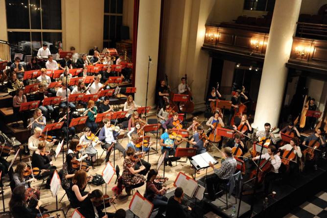 Alpine Symphony with Young Musicians Symphony Orchestra   © Matthew Andrews