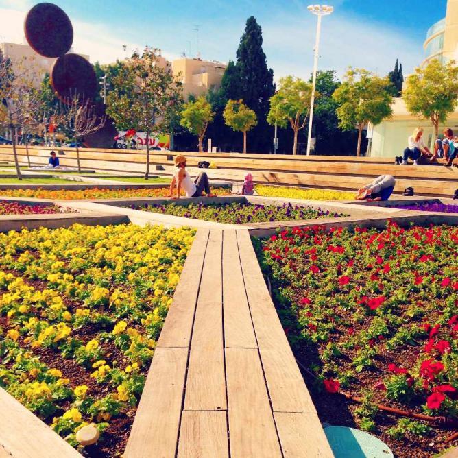 Kikar HaTizmoret Garden | © Zo Flamenbaum