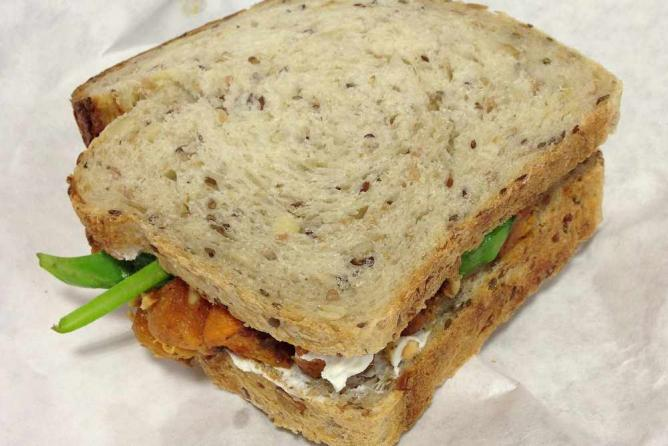 Butternut Squash Sandwich, Gracious Bakery & Cafe | © Bart Everson/Flickr