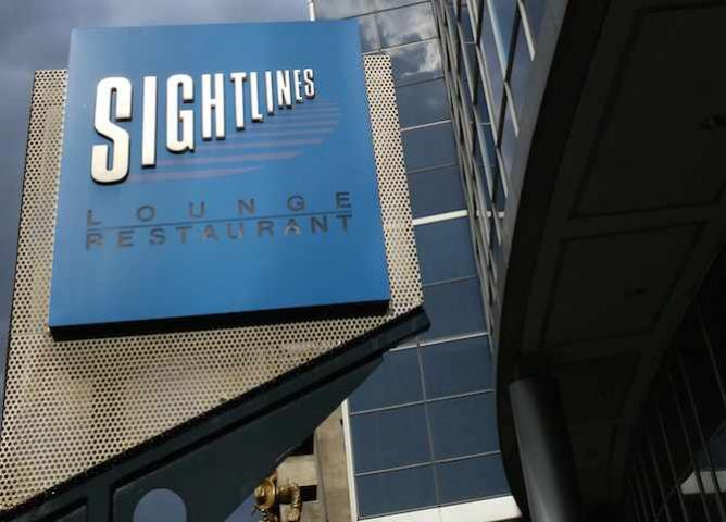 Sightlines Exterior Sign at Rogers Centre | © Will Felsky