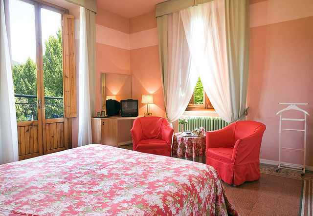 Hotel Room | ©Hotel Montecantini Terme/Flickr