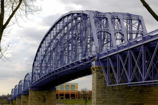 The Purple People Bridge l By Stephen J. Conn