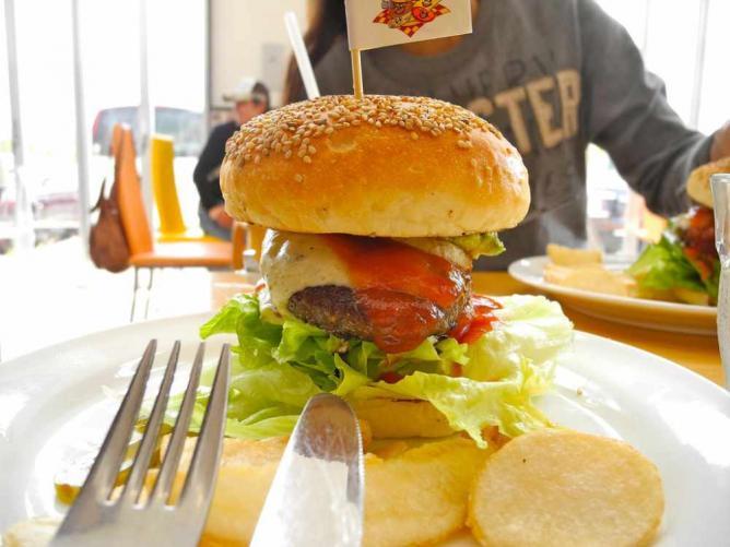 Burger   © raneko/Flickr