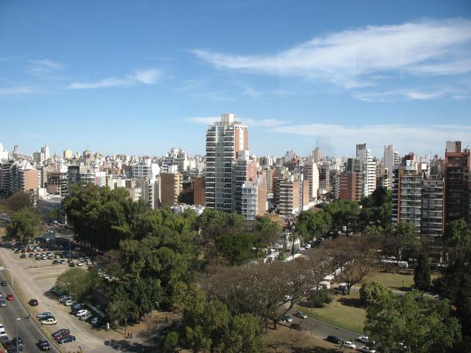 Rosario from the Paraná River Ⓒ Maximiliano Kolus/Flickr