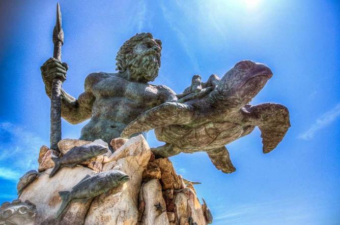 King Neptune Statue @ Virginia Beach