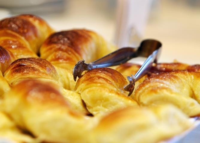 Medialunas, a traditional Argentinian breakfast Ⓒ David/Flickr