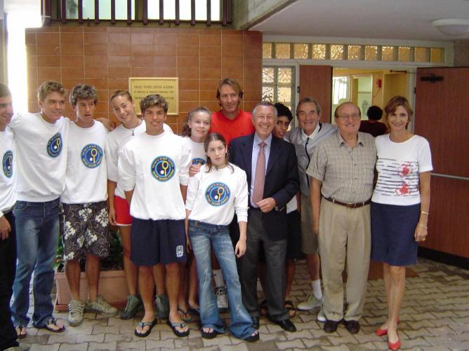 Opening of the Israel Tennis Center in Akko   © Courtesy Israel Tennis Centers