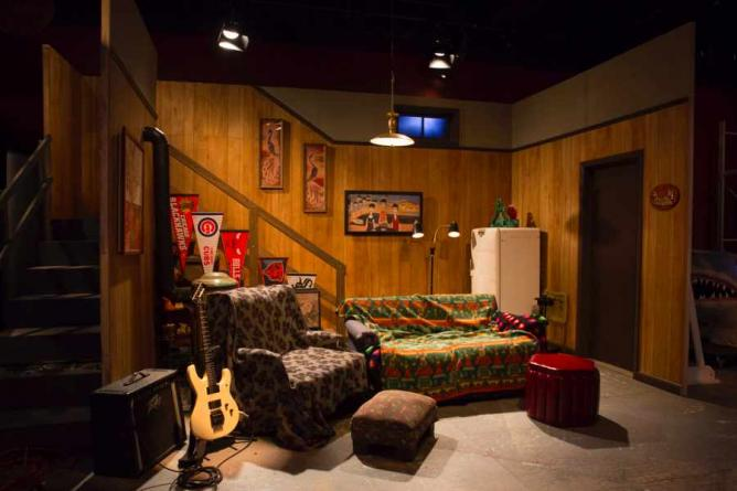 Scenic Wayne's World Set | © Saturday Night Live: The Exhibition