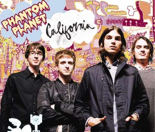 California- Phantom Planet Album Art