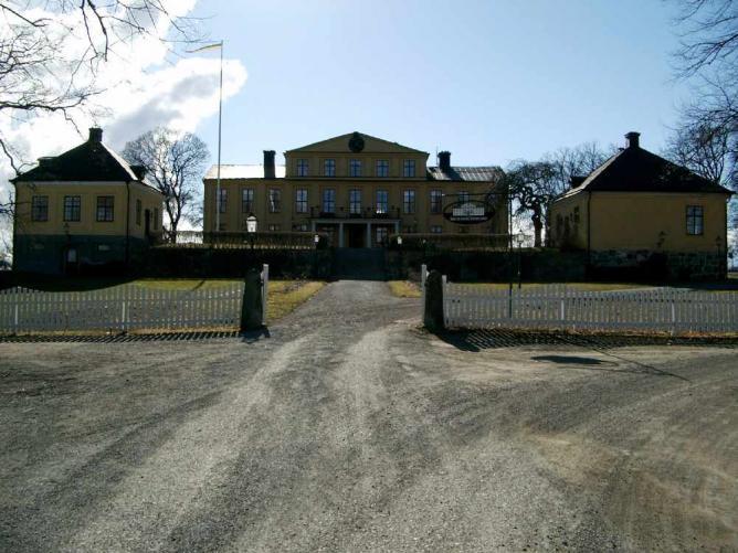 Exterior of Krusenberg Herrgård
