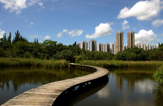 Hong Kong Wetland Park | © Matthias Süßen/WikiCommons