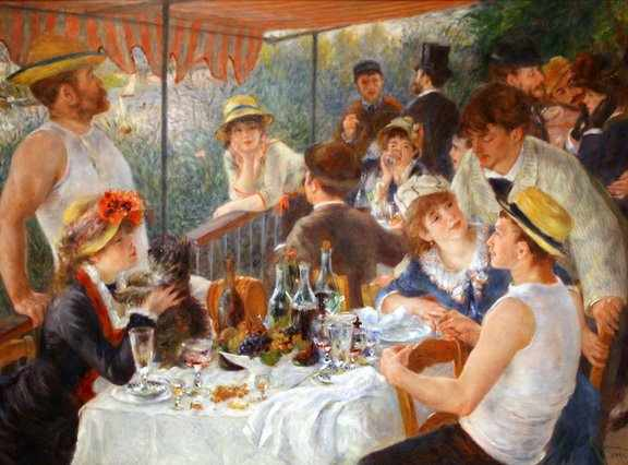 Luncheon of the Boating Party I © Nemethd/WikiCommons