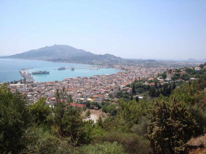 Panoramic view of Zakynthos   © Mich973/WikiCommons