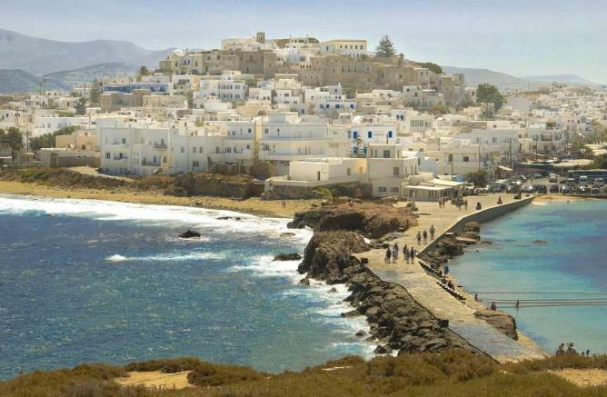 Panoramic view of Chora Naxos   © Sergio Alvarez/WikiCommons