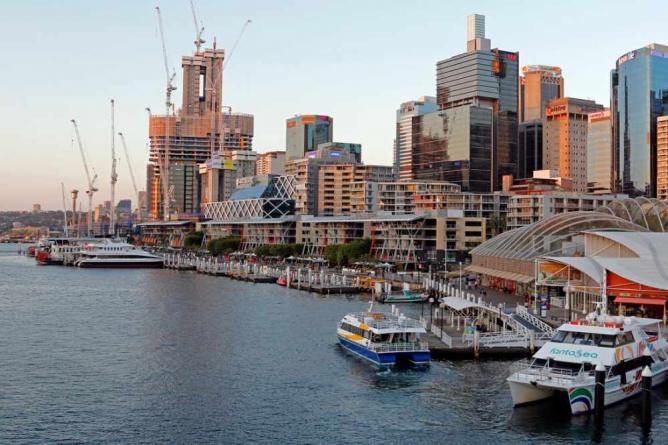 View from Darling Harbour © Tim J Keegan/Flickr