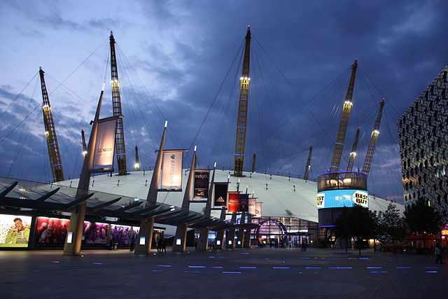 The 02 Arena Entrance | © Wikicommons