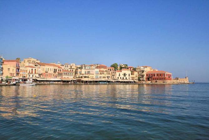 Venetian port of Chania   © Lapplaender/WikiCommons