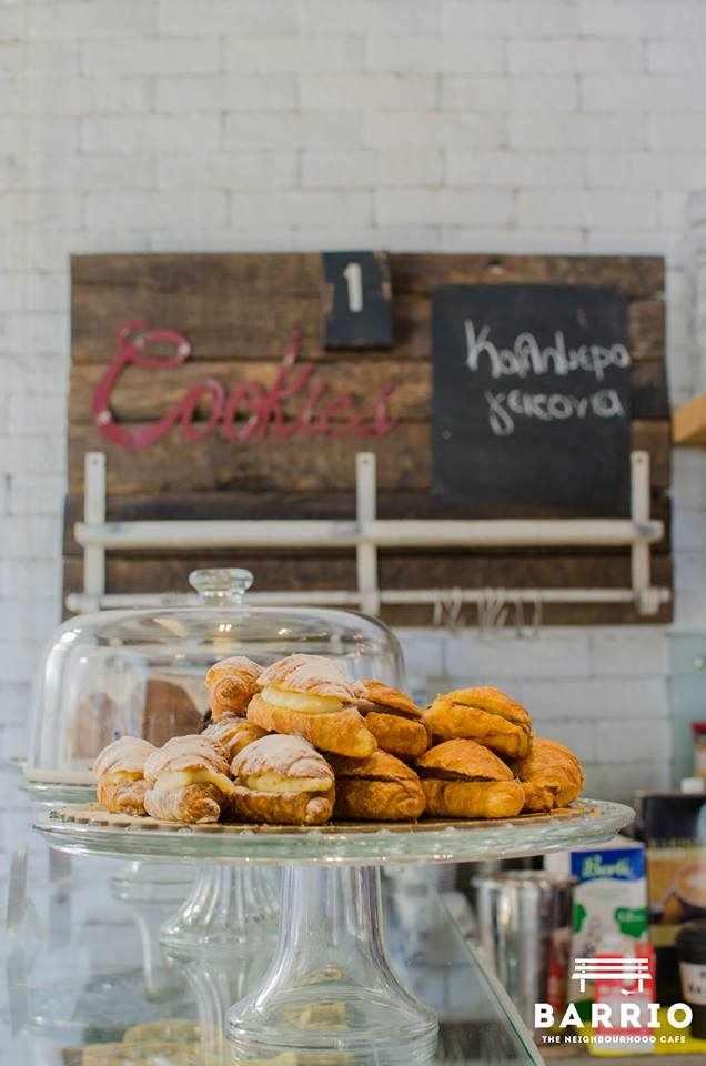 Homemade croissants   Courtesy of Barrio Cafe