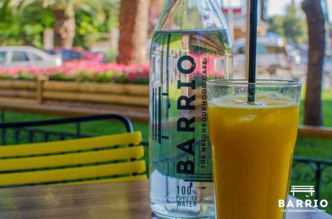 Fresh orange juice   Courtesy of Barrio Cafe