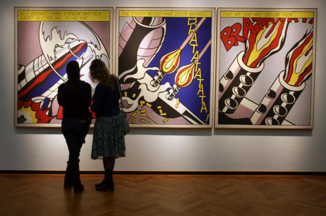 As I Opened Fire, Roy Lichtenstein | © Pixel Addict/Flickr