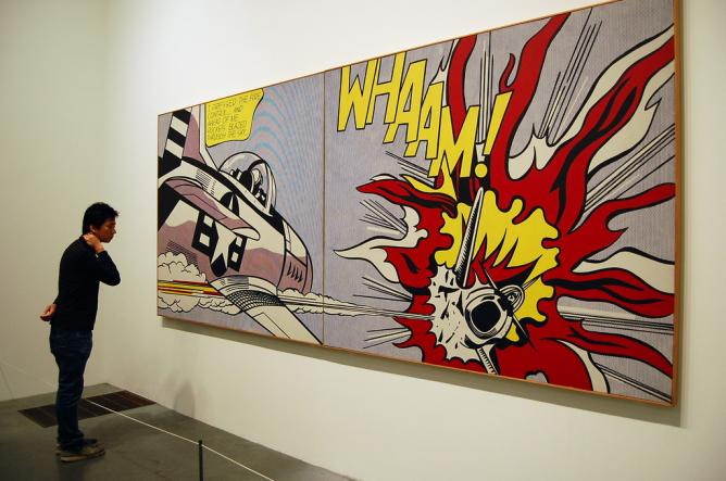 Whaam! Roy Lichtenstein | © jpellgen/Flickr