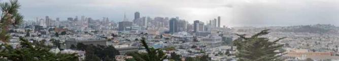 View from Corona Heights| © Juan Romero
