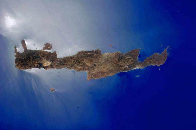 Crete from above | © Originalwana/WikiCommons