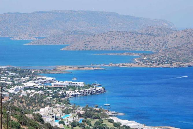 Overview of Elounda | © George Groutas/WikiCommons