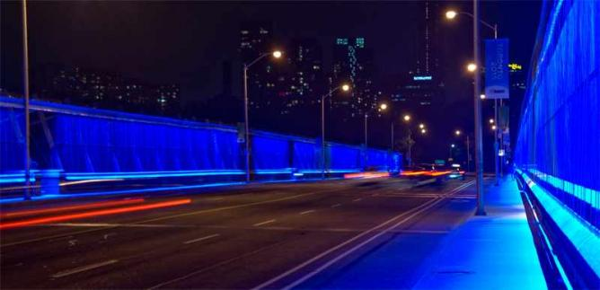 The Luminous Veil - Prince Edward Viaduct | © Celio Barreto