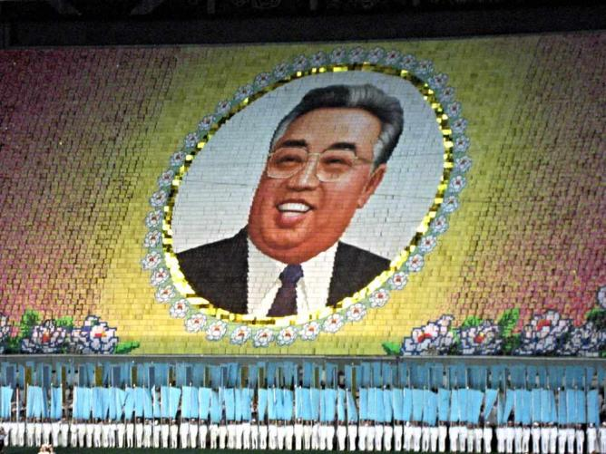 Kim Il Sung | © David Stanley/Flickr