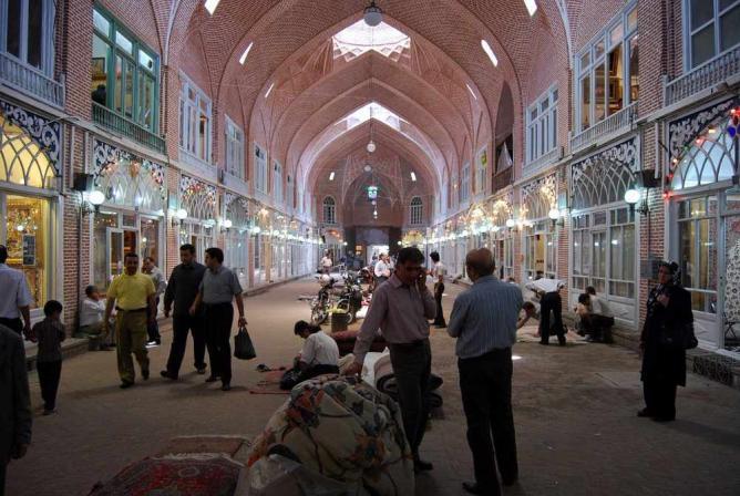 Tabriz Bazar   © Vathlu/Wikicommons