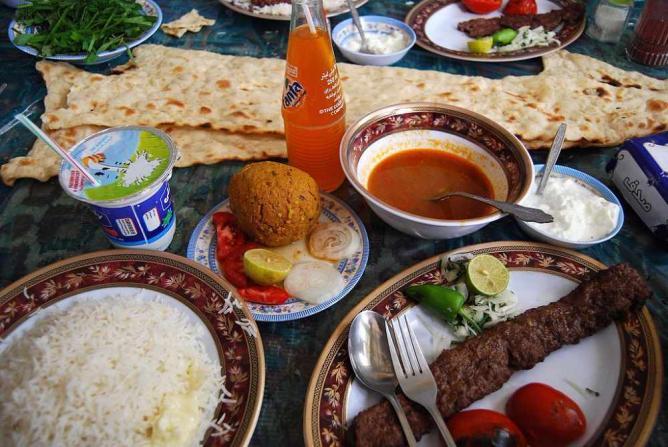 Traditional Tabrizi Food   © Vathlu/Wikicommons