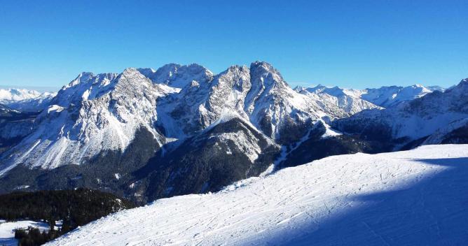 The Alps in Tyrol, Austria
