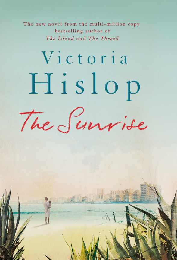 Book cover for Victoria Hislop's The Sunrise