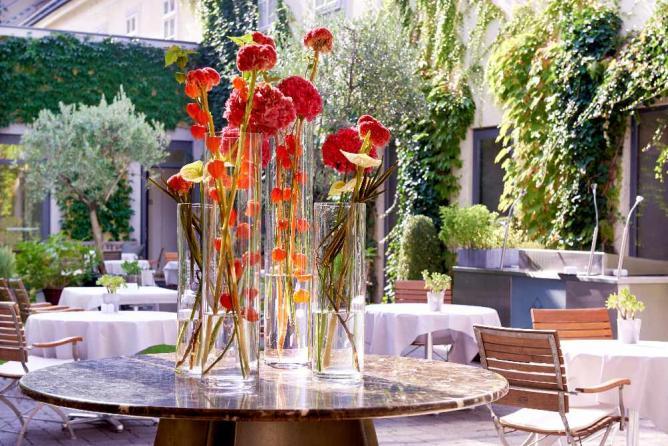 Garden of Das Triest © Image courtesy of Das Triest