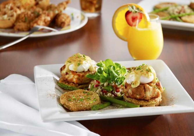 Crab Benedict | Courtesy Miss Shirley's Café