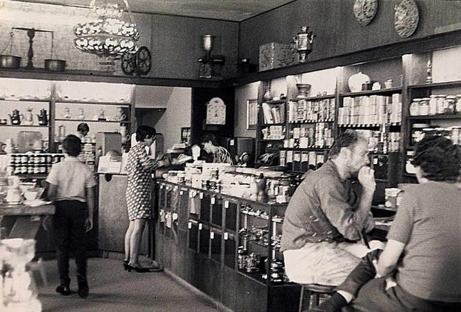 Peet's Coffee in 1969 | ©CarolDandelion234/flickr