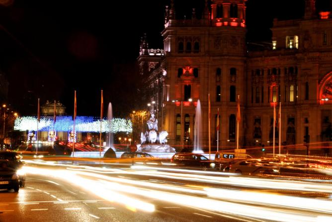 Madrid by night | © cdelmoral/Flickr