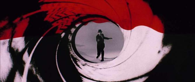 Film still from the intro to You Only Live Twice (1967). Amis was greatly interested by the spy genre, and its influence on him can be seen in the motifs and devices found in The Anti-Death League |© T.Heuzé