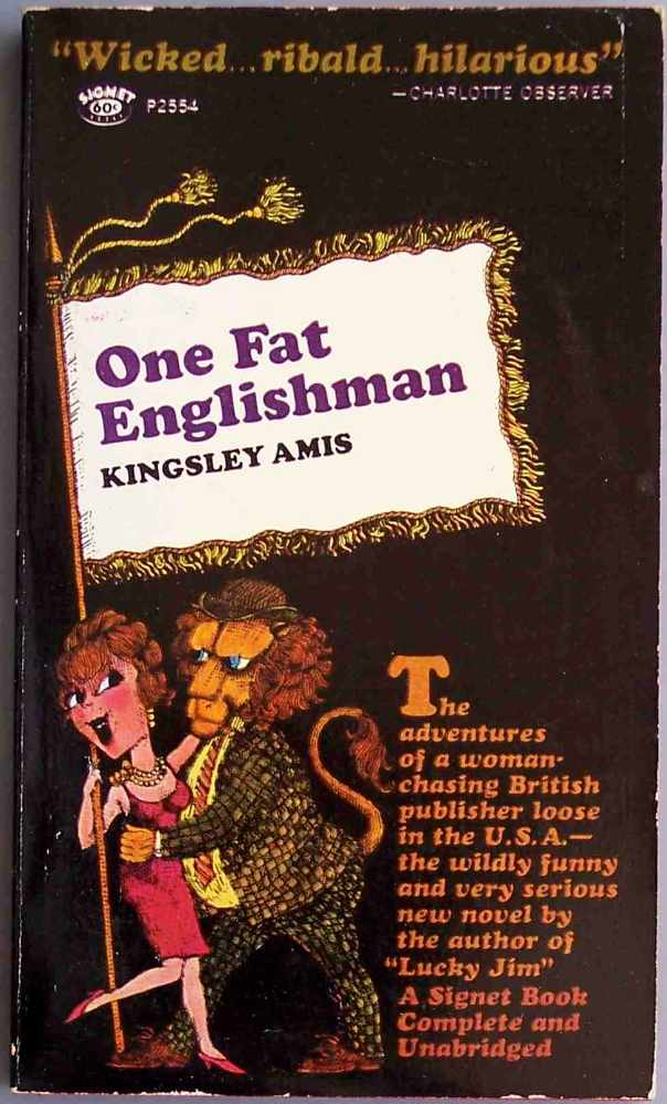 a character analysis of kingsley amis novel one fat english man