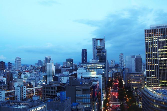 Midosuji   © Luke Ma/Flickr