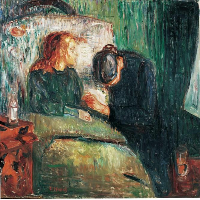 The Sick Child (Tate Modern)| © Edvard Munch (Public domain)/Wikicommons