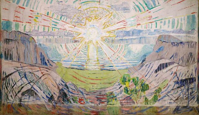 The Sun by Munch| © Edvard Munch (Public domain)/Wikicommons