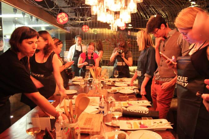 UK Cooks Basque Event l © Basque Country Tourism