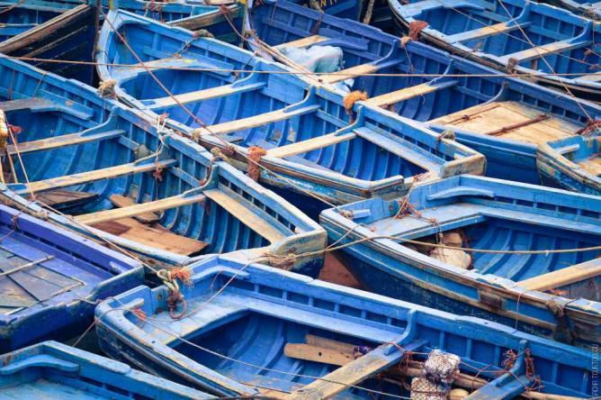 Boats of Asilah | © Sacha Tourtoulou/Flickr