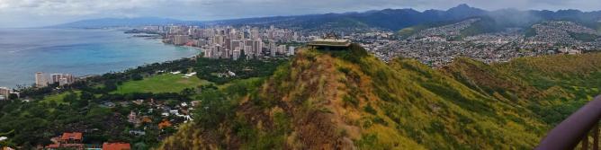 Pano Honolulu From Diamond Head